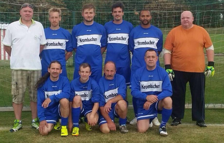 Fußballer der SG Reseda e.V. in Erfurt